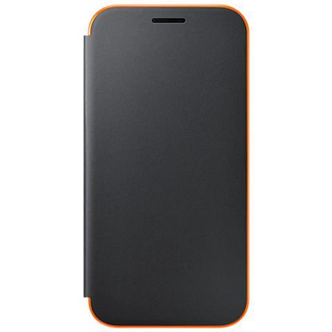 SAMSUNG Flip Cover Neone per Galaxy A3 2017 Colore Nero