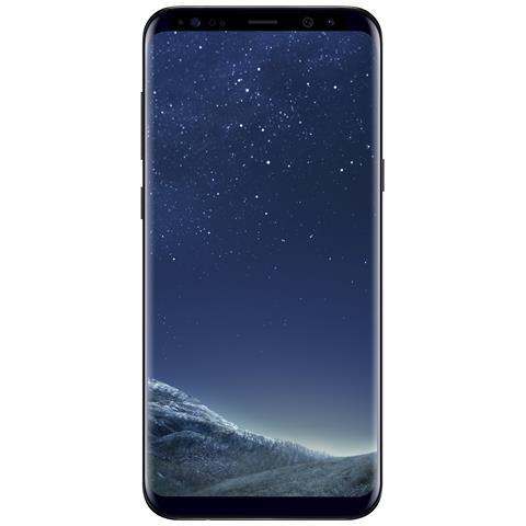 """SAMSUNG Galaxy S8+ Nero 64 GB 4G / LTE Impermeabile Display 6.2"""" 2K Slot Micro SD Fotocamera 12 Mpx Android Italia"""