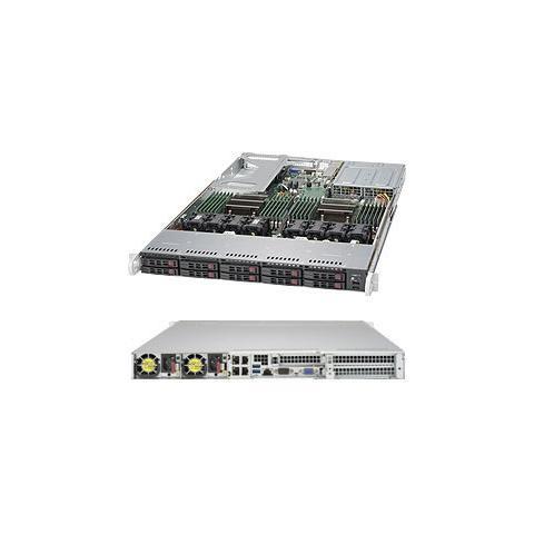 1028U-TR4+, Intel C612, Socket R (LGA 2011) , Intel, 1U, Aspeed AST2400, Xeon