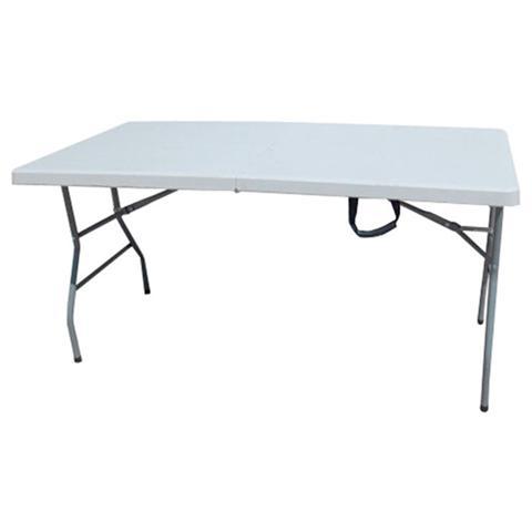 Tavolo pieghevole e portatile in valigetta in acciaio piano in HDPE