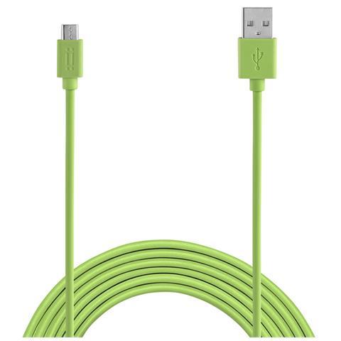 AIINO Samsung Micro USB to USB reversible cable - Green