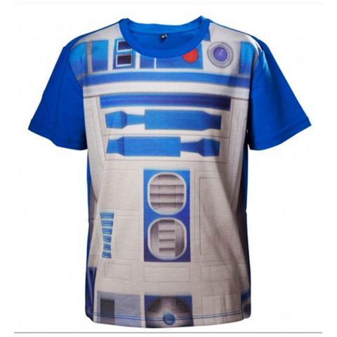 BIOWORLD Star Wars - R2d2 (T-Shirt Bambino 158/164)