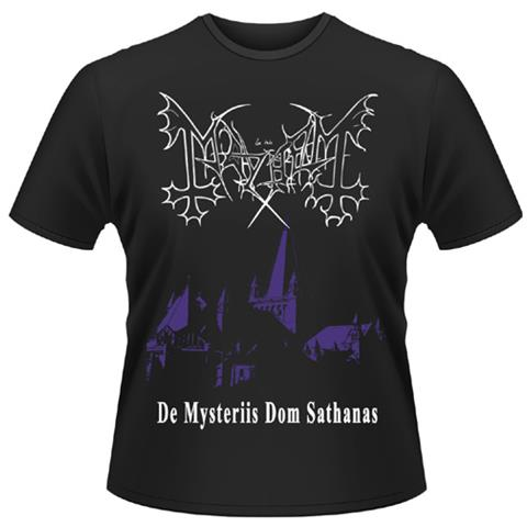 PLASTIC HEAD Mayhem - De Mysteriis Dom Sathanas (T-Shirt Unisex Tg. 2XL)
