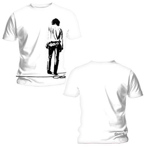 ROCK OFF Doors (The) - Back Print Solitary White (T-Shirt Unisex Tg. S)