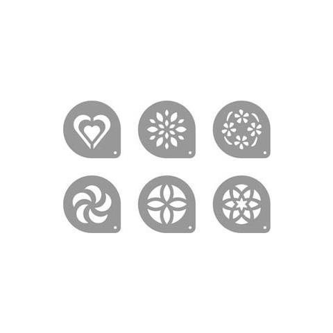 Tescoma Dischi decorativi x cappuccino 6 pezzi mydrink