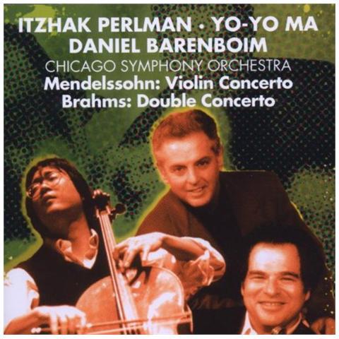 WARNER BROS Mendelssohn / Brahms - Daniel Barenboim