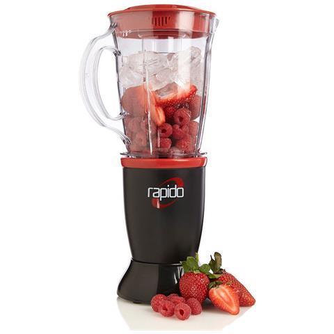 Frullatore HM496983 Rapido Capacità 0.5 Litri Potenza 230 Watt Colore Nero / Rosso