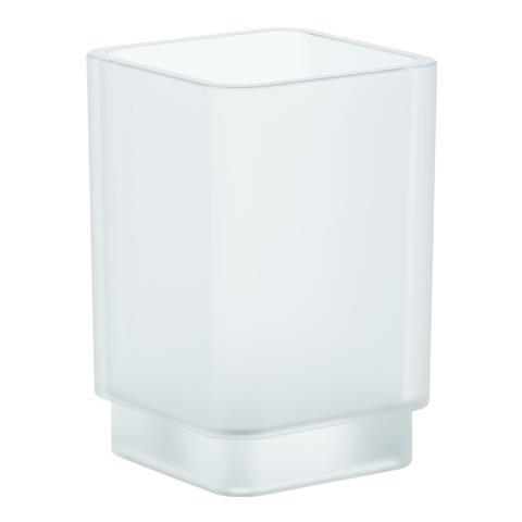 Bicchiere Da Appoggio Grohe Selection Cube 40783000 Vetro