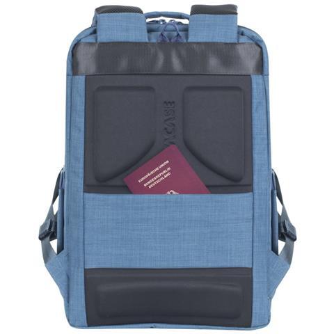 RIVACASE 8365 Laptop Rucksack 17.3 blau