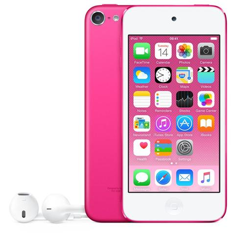 """APPLE iPod Touch 16GB Display Retina 4"""" IPS Multi-Touch Fotocamera 8Mpx con AirPlay iCloud Bluetooth / Wi-Fi Colore Rosa"""