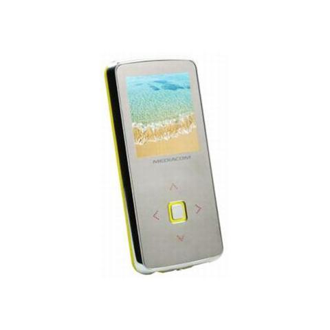 "MEDIACOM Lettore Mp3/4 JukeBox Movie 158 4Gb USB 2.0 Radio WMA AMV AVI Display da 1.5"" Microfono Batteria al litio"