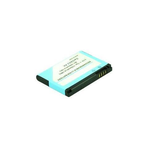 2POWER 2-Power MBI0120A, 1100 mAh, GPS / PDA / Mobile phone, Ioni di litio, 5,1 cm, 3,7 cm, 6 mm