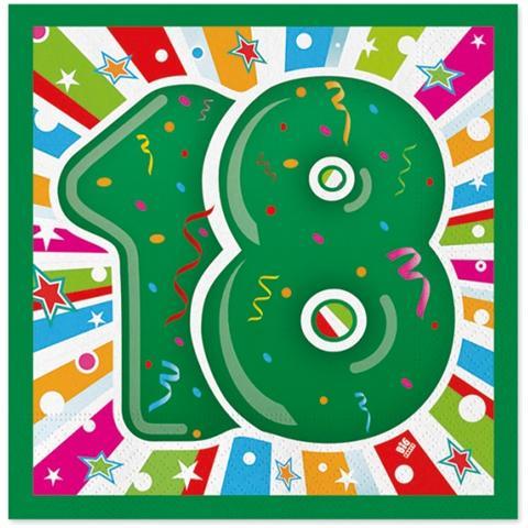Big Party Dimav Cf 20 Tovaglioli 18 Anni