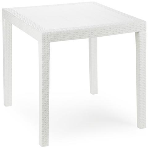 Tavolo in Polipropilene Bianco - Modello King
