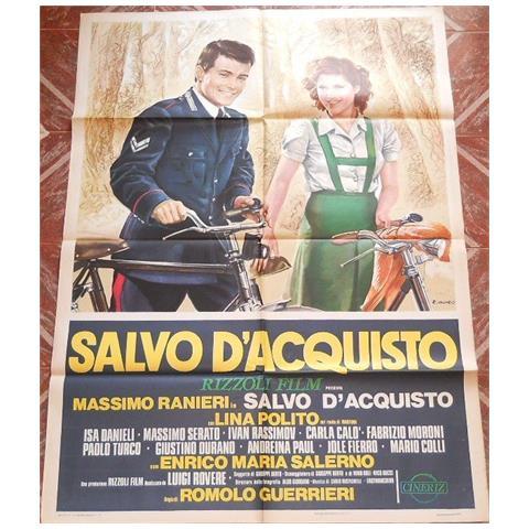 Vendilosubito Manifesto 2f Originale Del Film Salvo D' acquisto Con Massimo Ranieri 1974