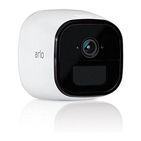 NETGEAR Arlo Go Mobile Videocamera di sorveglianza senza Fili Wi-Fi 4G, 3G LTE, Compatibile con SIM di Qualsiasi Operatore, Esterno / Interno