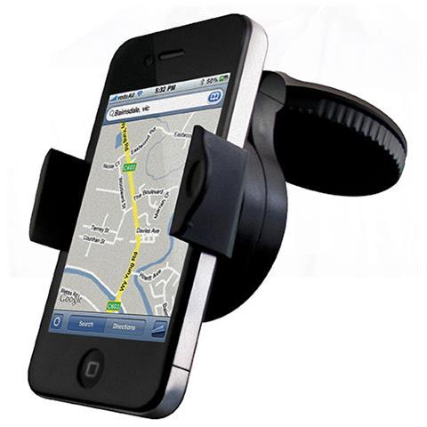 CYGNETT DashView Universal, GPS, Telefono cellulare / smartphone, Lettore MP3, Passivo, Nero