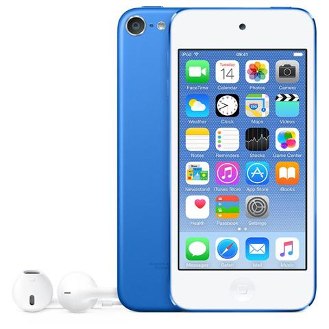 Image of iPod Touch 32GB Display Retina 4'' IPS Multi-Touch Fotocamera 8Mpx con AirPlay iCloud Bluetooth / Wi-Fi Colore Blu