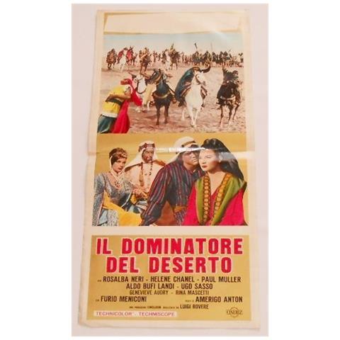 Vendilosubito Locandina Originale Del Film Il Dominatore Del Deserto