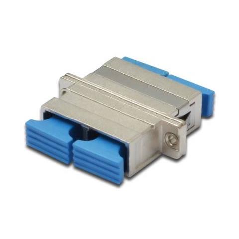 DIGITUS DN-96013-1, SC, PC, Blu, Argento, Metallo, Plastica