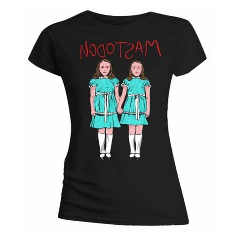 ROCK OFF Mastodon - Twins Black (T-Shirt Donna Tg. XL)