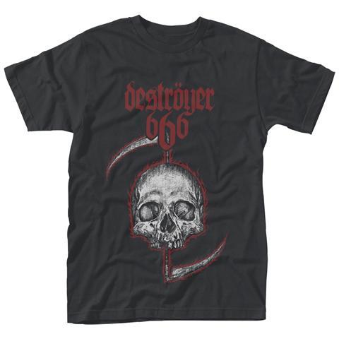 PHM Destroyer 666 - Skull (T-Shirt Bambino Tg. M)