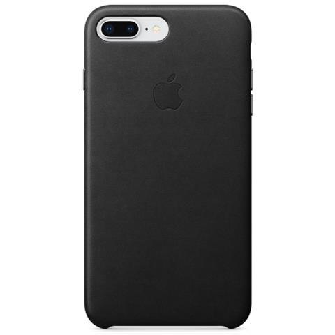 APPLE Cover in Pelle per iPhone 8 Plus / 7 Plus Colore Nero