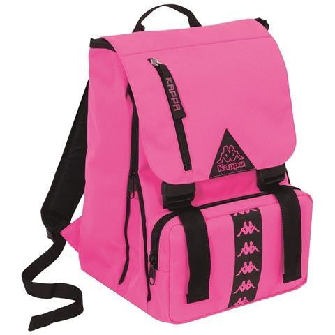 2ad1855f5b TrAdE shop Traesio® Zaino Estensibile Kappa Rosa Con Tasche Organizzato  Cartella Scuola Sport