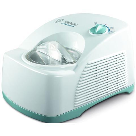 Il Gelataio ICK5000 Gelatiera Capacità 1.2 Litri Potenza 230 Watt Colore Bianco / Verde