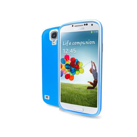 CELLY tpu cover galaxy s4 cyan