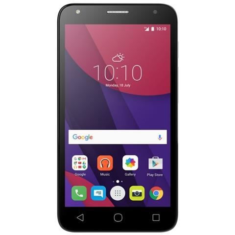 """ALCATEL Pixi 4 (5) Nero 8 GB 4G/LTE Dual Sim Display 5"""" Slot Micro SD Fotocamera 8 Mpx Android Italia"""