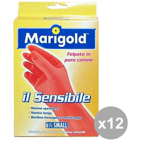 Marigold Set 12 Guanti Sensibili S Giardinaggiog