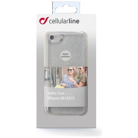 CELLULAR LINE Custodia Retro per Iphone 5 Colore Argento