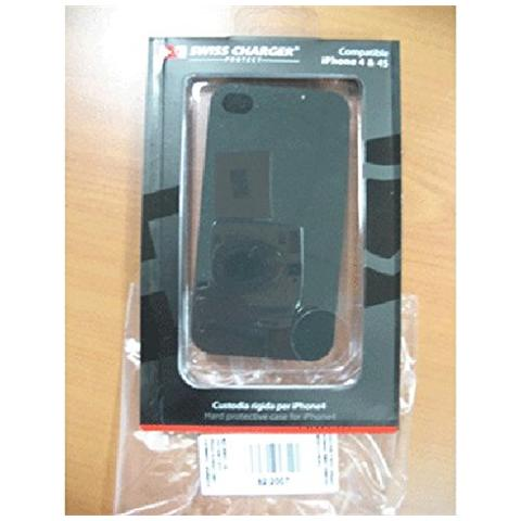 SWISS CHARGER CUSTODIA X APPLE IPhone4 SCP80001 SWISS CHARGER MODELLO RIGIDO
