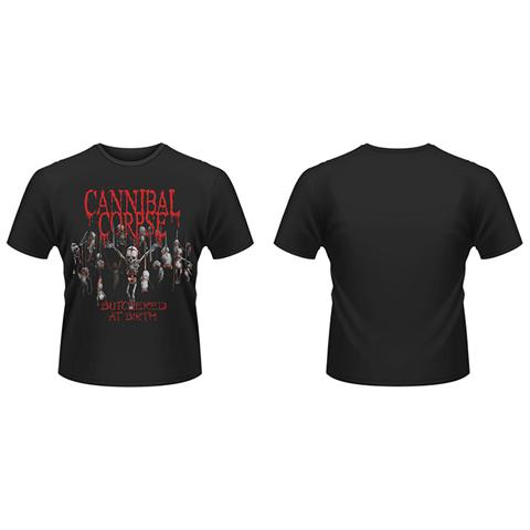 PHM Cannibal Corpse - Butchered At Birth (2015) (T-Shirt Unisex Tg. L)