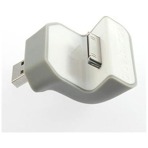 Network Shop Docking Station Usb Da Muro Per Iphone 4 / 4s - Ipod Mini