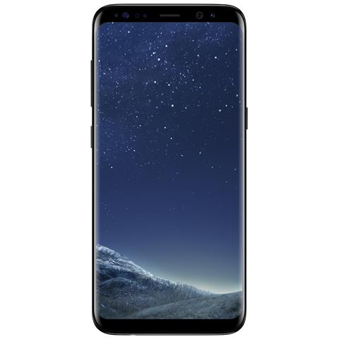 "SAMSUNG Galaxy S8 Nero 64 GB 4G / LTE Impermeabile Display 5.8"" Quad HD Slot Micro SD Fotocamera 12 Mpx Android Italia"