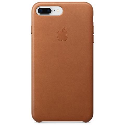 APPLE Cover in Pelle per iPhone 8 Plus / 7 Plus Colore Cuoio