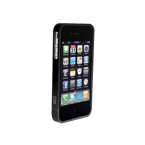 SWISS CHARGER CUSTODIA X APPLE IPhone4/4S SCP40016 SWISS CHARGER IN ALLUMINIO NERO PER UOMO