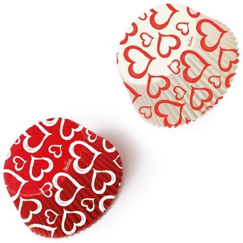 36 Pirottini In Carta Forno Love San Valentino