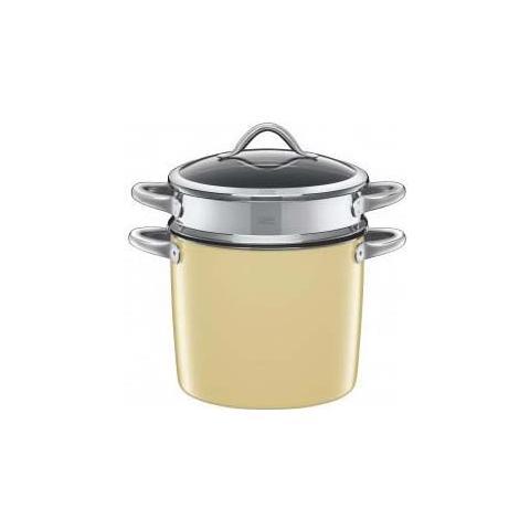 SILIT Spaghettiera c / coperchio vitaliano 24cm 8,5lt. vanilla silargan