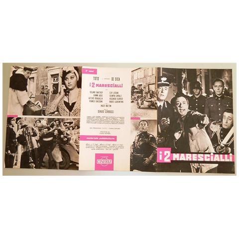 Vendilosubito Brochure (In Spagnolo) Originale Toto' , de Sica, i 2 Marescialli, originale 1961