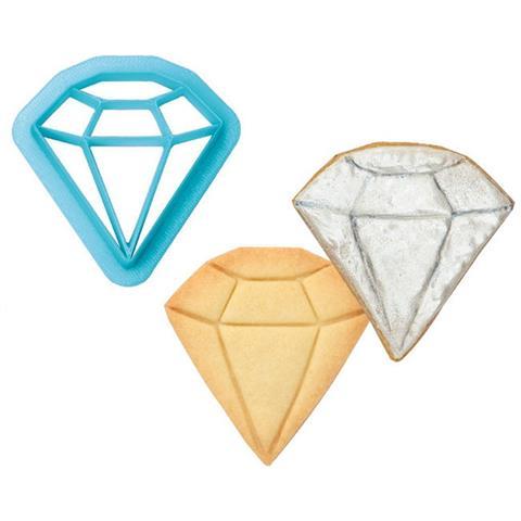 Tagliapasta Forma Diamante In Plastica Ø 6 Cm