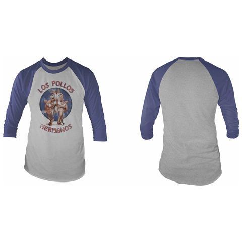 PHM Breaking Bad - Los Pollos (T-Shirt Unisex Manica 3/4 Tg. S)