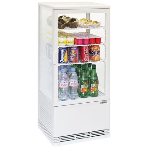 Vetrina Refrigerata Casselin 78 L Bianca