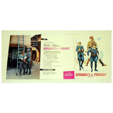 Vendilosubito Brochure Originale Del Film Armiamoci E Partite Franco E Ciccio