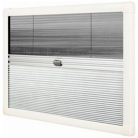 Ucs Duoplisse Tendina Per Finestra Camper (946 X 496mm) (bianco)