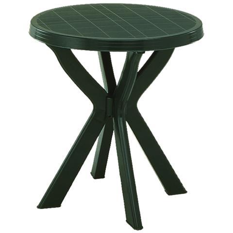 Tavolo da Giardino Rotondo Verde - Modello Don
