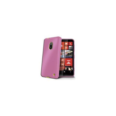 CELLY Cover in TPU per Lumia 620 - Rosa