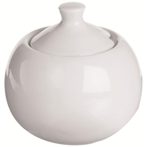 Zuccheriera in Porcellana Bianco 9 cm 43349